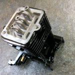 ロビン 4ストエンジンへのWPC+ガンコート。